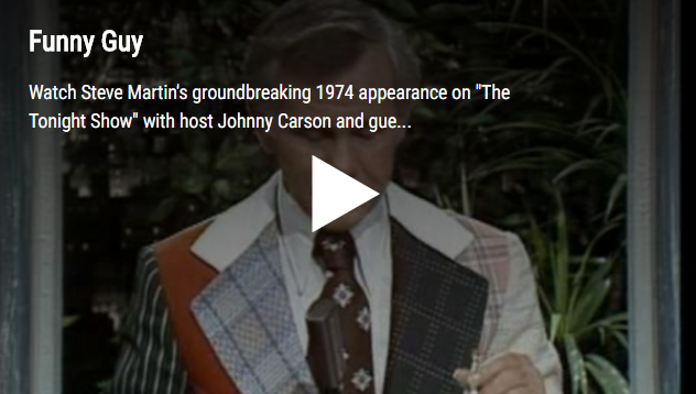 WATCH: Steve Martin's First Appearance on Johnny Carson - 1974!