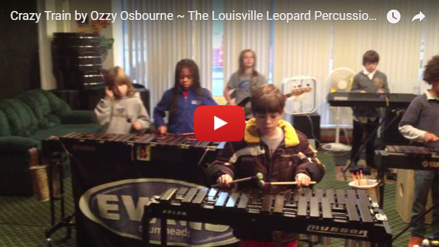 crazy train on xylophones video still