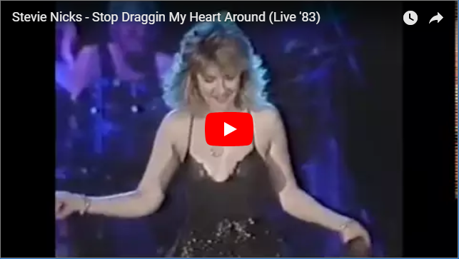 WATCH: Very Sexy Stevie Nicks Performs 'Stop Draggin' My Heart Around' LIVE - 1983