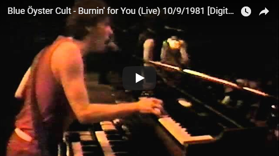 Blue Öyster Cult - Burnin' for You (Live) 10/9/1981