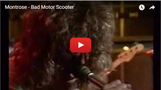 Montrose- Bad Motor Scooter video with Sammy Hagar