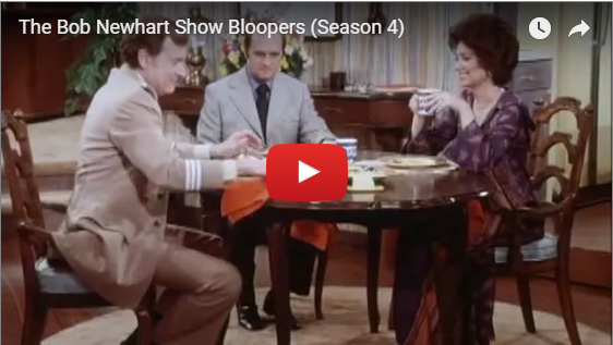 bob newhart show season 4 bloopers video still