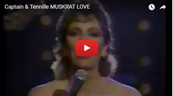 captain and tennille muskrat love video still