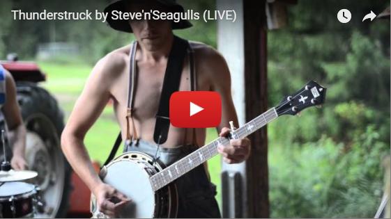thunderstruck hillbilly cover video still
