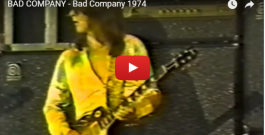 "WATCH: BAD COMPANY performs ""Bad Company"" LIVE – 1974"