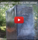 WATCH: How to Build a Smoker Barbecue From a File Cabinet