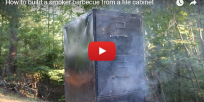 how to build a smoker from filing cabinet video still