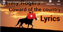 "WATCH & SING ALONG! ""Coward of the County"" – Kenny Rogers, 1979"