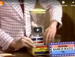 bass-o-matic 76 commercial SNL 1976