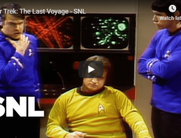 star trek the last voyage snl parody video still