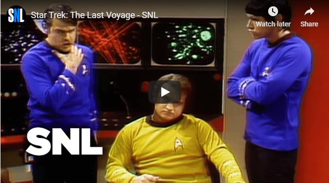 """WATCH: """"Star Trek: The Last Voyage"""" - SNL - Original Air Date May 29, 1976"""