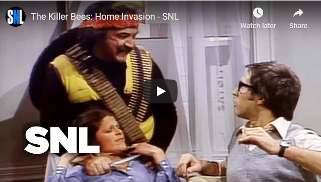 The Killer Bees: Home Invasion - SNL 1976