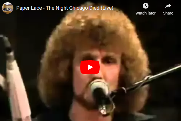 Paper Lace - The Night Chicago Died (Live)